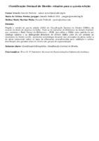 CLASSIFICAÇÃO DECIMAL DE DIREITO: ESTUDOS PARA A QUINTA EDIÇÃO