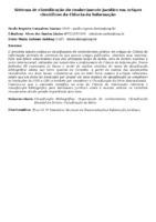 SISTEMA DE CLASSIFICAÇÃO DO CONHECIMENTO JURÍDICO EM ARTIGOS CIENTÍFICOS DA CIÊNCIA DA INFORMAÇÃO