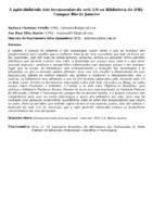 A APLICABILIDADE DAS FERRAMENTAS DA WEB 2.0 NA BIBLIOTECA DO IFRJ- CAMPUS RIO DE JANEIRO