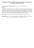EXPLORANDO MUSEUS: MACEIÓ : UMA APROXIMAÇÃO ENTRE DISCENTES E PATRIMÔNIO HISTÓRICO-CULTURAL