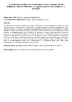 A BIBLIOTECA ESCOLAR EM CONSONÂNCIA COM A AGENDA 2030: BIBLIOTECA SENAI NITERÓI E O EMPODERAMENTO DAS MULHERES E MENINAS
