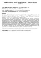 BIBLIO(CRI)ATIVA: ESPAÇO DE SOCIABILIDADE E INFORMAÇÃO PARA CIDADANIA