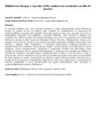 BIBLIOTECAS PARQUE E AGENDA 2030: ANÁLISE DAS ATIVIDADES NO RIO DE JANEIRO