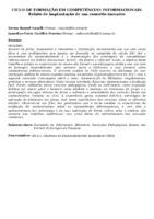 CICLO DE FORMAÇÃO EM COMPETÊNCIAS INFORMACIONAIS: RELATO DE IMPLANTAÇÃO DE UM CONCEITO INOVADOR