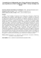 COMPETÊNCIA EM INFORMAÇÃO PARA O DESENVOLVIMENTO SUSTENTÁVEL: UMA EXPERIÊNCIA DA REDE AMETISTA DA CPRM - SERVIÇO GEOLÓGICO DO BRASIL
