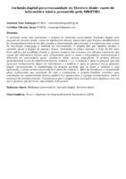 INCLUSÃO DIGITAL PARA COMUNIDADE DA TERCEIRA IDADE: CURSO DE INFORMÁTICA BÁSICA PROMOVIDO PELO SIB/FURG.