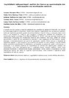 LEGIBILIDADE INFORMACIONAL: ANÁLISE DA CLAREZA NA APRESENTAÇÃO DAS INFORMAÇÕES EM RECEITUÁRIOS MÉDICOS