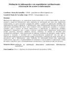 MEDIAÇÃO DA INFORMAÇÃO E OS REPOSITÓRIOS INSTITUCIONAIS: OTIMIZAÇÃO DO ACESSO À INFORMAÇÃO