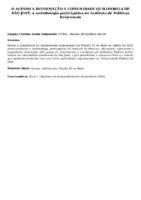 O ACESSO A INFORMAÇÃO A COMUNIDADE QUILOMBOLA DE SÃO JOSÉ: A METODOLOGIA PARTICIPATIVA DO INSTITUTO DE POLITICAS RELACIONAIS
