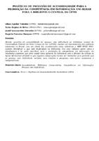POLÍTICAS DE INCLUSÃO DE ACESSIBILIDADE PARA A PROMOÇÃO DA COMPETÊNCIA EM INFORMAÇÃO: UM OLHAR PARA A BIBLIOTECA CENTRAL DA UFMS