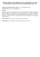 POLÍTICAS PÚBLICAS PARA POPULAÇÃO LGBT: PROPOSIÇÃO DE UMA AÇÃO DE INFORMAÇÃO NO LABORATÓRIO DE TECNOLOGIAS INTELECTUAIS - LTI