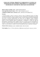 FEIRA DE LEITURA: PROJETO DA BIBLIOTECA CENTRAL DA ASSOCIAÇÃO EDUCACIONAL DOM BOSCO E A BIBLIOTECA ESCOLAR DO COLÉGIO DE APLICAÇÃO DE RESENDE