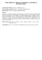 LIVRO DIDÁTICO: OBJETO DE MEMÓRIAS, HISTÓRIAS E SENSIBILIDADES