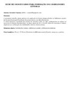 REDE DE SIGNIFICADOS PARA FORMAÇÃO DAS HABILIDADES LEITORAS