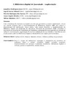 A BIBLIOTECA DIGITAL DE JUVENTUDE : IMPLANTAÇÃO