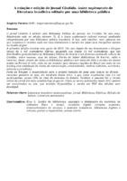 A CRIAÇÃO E EDIÇÃO DO JORNAL CÂNDIDO, ÚNICO SUPLEMENTO DE LITERATURA BRASILEIRA EDITADO POR UMA BIBLIOTECA PÚBLICA