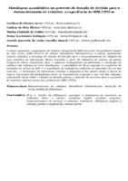 ABORDAGEM QUANTITATIVA NO PROCESSO DE TOMADA DE DECISÃO PARA O DESENVOLVIMENTO DE COLEÇÕES: A EXPERIÊNCIA DO SIBI-UFSCAR