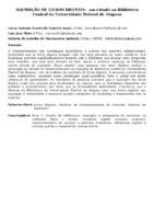 AQUISIÇÃO DE LIVROS DIGITAIS:  UM ESTUDO NA BIBLIOTECA CENTRAL DA UNIVERSIDADE FEDERAL DE ALAGOAS