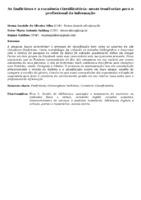 AS FANFICTIONS E A CURADORIA CLASSIFICATÓRIA: NOVAS TENDÊNCIAS PARA O PROFISSIONAL DA INFORMAÇÃO