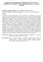 BIBLIOTECA DO SEMINÁRIO ARQUIDIOCESANO  NOSSA SENHORA DA ASSUNÇÃO:  NOVOS DESAFIOS A PARTIR DO ESTUDO DE USUÁRIOS