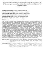 DESENVOLVENDO COLEÇÕES EM COOPERAÇÃO: RELATO DE EXPERIÊNCIA DO GT-LIVROS IMPRESSOS DO COMITÊ BRASILEIRO DE DESENVOLVIMENTO DE COLEÇÕES (CBDC)