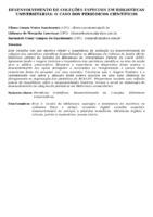 DESENVOLVIMENTO DE COLEÇÕES ESPECIAIS EM BIBLIOTECAS UNIVERSITÁRIAS: O CASO DOS PERIÓDICOS CIENTÍFICOS
