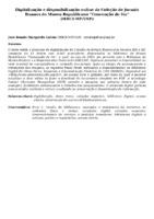 """DIGITALIZAÇÃO E DISPONIBILIZAÇÃO ONLINE DA COLEÇÃO DE JORNAIS ITUANOS DO MUSEU REPUBLICANO """"CONVENÇÃO DE ITU"""" (MRCI-MP/USP)"""