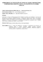 FERRAMENTA DE MIGRAÇÃO DE BASE DE DADOS CDS/ISIS PARA O REPOSITÓRIO DIGITAL PATUÁ, DO INSTITUTO EVANDRO CHAGAS