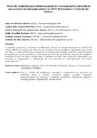 FLUXO DE TRABALHO PARA DISSEMINAÇÃO DE COMUNICAÇÕES CIENTÍFICAS EM EVENTOS NO FORMATO PÔSTER NA BVS PREVENÇÃO E CONTROLE DE CÂNCER.