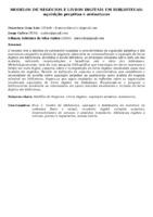 MODELOS DE NEGÓCIOS E LIVROS DIGITAIS EM BIBLIOTECAS: AQUISIÇÃO PERPÉTUA E ASSINATURAS