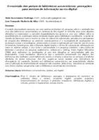 O CONTEÚDO DOS PORTAIS DE BIBLIOTECAS UNIVERSITÁRIAS: PERCEPÇÕES PARA SERVIÇOS DE INFORMAÇÃO NA ERA DIGITAL