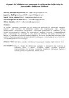 O PAPEL DA BIBLIOTECA NO PROCESSO DE EDITORAÇÃO DA REVISTA DE JUVENTUDE E POLÍTICAS PÚBLICAS