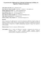 O PROCESSO DE ELABORAÇÃO DO TUTORIAL DE PESQUISA DA BDJUR DO SUPERIOR TRIBUNAL DE JUSTIÇA