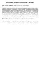 OPORTUNIDADE DE APRENDIZADO UTILIZANDO O MENDELEY