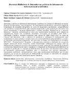 PARCERIA BIBLIOTECA & DOCENTES NA PRÁTICA DO LETRAMENTO INFORMACIONAL ACADÊMICO