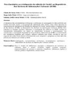 PECULIARIDADES NA CATALOGAÇÃO DA COLEÇÃO DE CORDEL NO REPOSITÓRIO RUI BARBOSA DE INFORMAÇÕES CULTURAIS (RUBI)