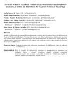 ÁREAS DE SILÊNCIO E CULTURA COLABORATIVA: CONSTRUINDO AMBIENTES DE CONFORTO ACÚSTICO NA BIBLIOTECA DO SUPERIOR TRIBUNAL DE JUSTIÇA