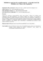 BIBLIOTECA COMO LOCO DE EMPODERAMENTO - A AGENDA SOCIAL DA BIBLIOTECA DA CÂMARA DOS DEPUTADOS
