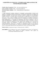 COMPETÊNCIAS DIGITAIS: O PROFESSOR COMO GATEWAY DE NOVOS PESQUISADORES