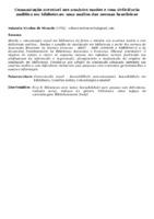COMUNICAÇÃO ACESSÍVEL AOS USUÁRIOS SURDOS E COM DEFICIÊNCIA AUDITIVA EM BIBLIOTECAS: UMA ANÁLISE DAS NORMAS BRASILEIRAS