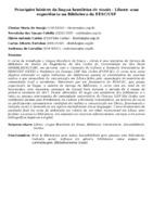 PRINCÍPIOS BÁSICOS DA LÍNGUA BRASILEIRA DE SINAIS - LIBRAS: UMA EXPERIÊNCIA NA BIBLIOTECA DA EESC/USP