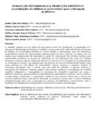 SEMANA DE METODOLOGIA & PRODUÇÃO CIENTÍFICA: CONTRIBUIÇÕES DA BIBLIOTECA UNIVERSITÁRIA PARA A FORMAÇÃO ACADÊMICA