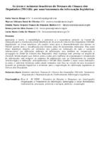 AS ÁREAS E SUBÁREAS TEMÁTICAS DO TESAURO DA CÂMARA DOS DEPUTADOS (TECAD): POR UMA TAXONOMIA DA INFORMAÇÃO LEGISLATIVA.
