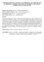 CONTROLE NO FLUXO DE PROCESSOS NA CATALOGAÇÃO: UM ESTUDO DE CASO NA BIBLIOTECA CENTRAL IR. JOSÉ OTÃO, DA PONTIFÍCIA UNIVERSIDADE CATÓLICA DO RIO GRANDE DO SUL