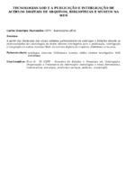TECNOLOGIAS LOD E A PUBLICAÇÃO E INTERLIGAÇÃO DE ACERVOS DIGITAIS DE ARQUIVOS, BIBLIOTECAS E MUSEUS NA WEB