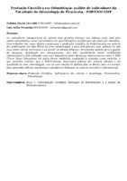PRODUÇÃO CIENTÍFICA EM ODONTOLOGIA: ANÁLISE DE INDICADORES DA FACULDADE DE ODONTOLOGIA DE PIRACICABA - FOP/UNICAMP