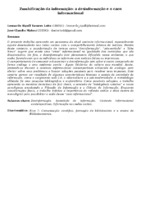 ZUMBIFICAÇÃO DA INFORMAÇÃO: A DESINFORMAÇÃO E O CAOS INFORMACIONAL
