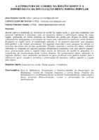 A LITERATURA DE CORDEL NA REGIÃO NORTE E A IMPORTÂNCIA DA DIVULGAÇÃO DESTA POESIA POPULAR