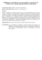 BIBLIOTECAS E AQUISIÇÃO DE ARQUIVOS PRIVADOS: A EXPERIÊNCIA DA UNIRIO COM A COLEÇÃO ESPECIAL GUILHERME FIGUEIREDO