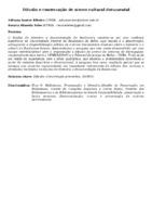 DIFUSÃO E CONSERVAÇÃO DE ACERVO CULTURAL DOCUMENTAL